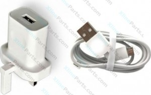 Data Cable MicroUSB with Adapter Huawei 3 Pin