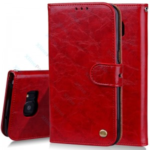 Flip Case Elegant Huawei Y6 (2019) red