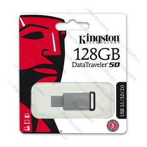 Kingston DataTraveler Pen Drive USB 3.1 128GB metal black (Original)