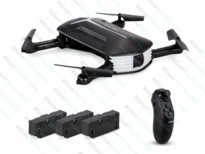 Quadcopter JJR/C 360 Degree Flip 4-Channel WiFi with 720P Camera & LED Light & Remote Control black