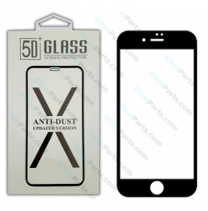 Tempered Glass Screen Protector 5D Apple iPhone XR white