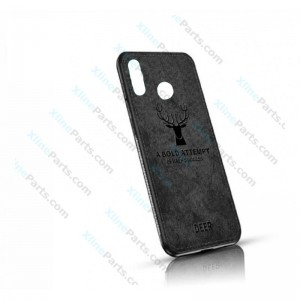 Silicone Case Deer Huawei P Smart (2019) black