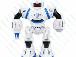 Robot RC Cady Will R3 Intelligent Combat with LED Light blue