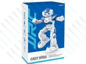 Robot RC Gesture Sensor Dancing Intelligent Program Toy blue
