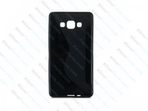 S Line Soft TPU Gel Back Case Cover Skin Samsung Galaxy A3 - black