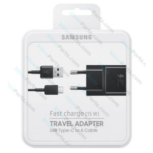 Travel Charger Samsung EP-DW720CBE Type-C 2Pin Adapter black (Original)