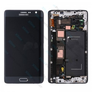 LCD with Touch and Frame Samsung Galaxy Note Edge N915 black OCG