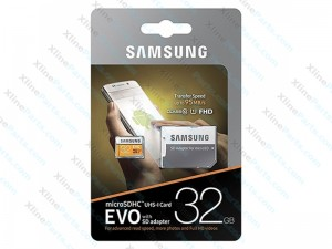 Samsung EVO Micro SD with SD Adapter 32GB (Original)
