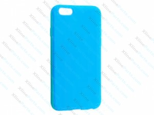 Silicone Case iPhone 6G blue