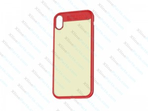 Silicone Case Protective Apple iPhone X/XS red