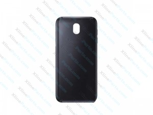Silicone Case Gorilla with Screen Protector & LCD Cleaner Samsung Galaxy J7 (2017) black