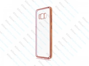 Silicone Case Samsung Galaxy S8 Plus G955 rose gold