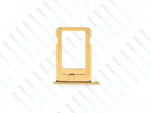 SIM Card Holder Apple iPhone 5G / 5S gold