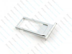 SIM Card Holder Apple iPhone 6S silver