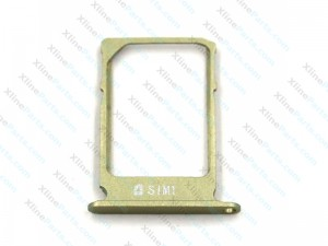 SIM Card Holder Samsung Galaxy A5 A500 gold