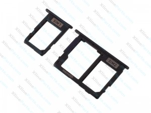 SIM Card Holder Samsung Galaxy J330 J530 J730 (2017) Dual black