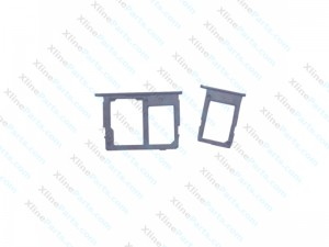 SIM and Memory Card Holder Samsung Galaxy J330 J530 J730 (2017) Dual blue
