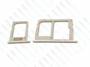 SIM Card Holder Samsung Galaxy J3 J5 J7 (2017) Dual gold