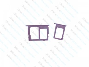 SIM and Memory Card Holder Samsung Galaxy J330 J530 J730 2017 Dual pink