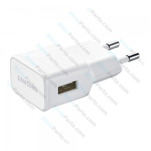 Samsung Fast Charge Cable Micro USB with USB Power Adapter 2 Pin white (Original) bulk