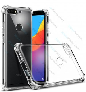 Silicone Case Anti-Shock Huawei Y7 Prime Y7 Pro (2018) clear