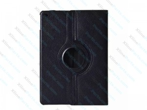 Case 360 Degree Rotate Apple iPad 2 iPad 3 iPad 4 black