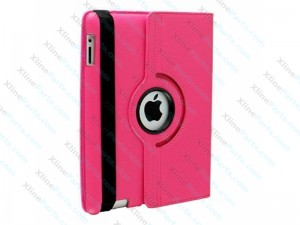 Case 360 Degree Rotate iPad 2 iPad 3 iPad 4 pink