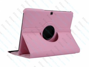 Tablet Case 360 Degree Rotate Samsung Galaxy Tab E 9.6 T560 pink