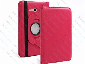 Tablet Case 360 Degree Rotate Samsung Galaxy Tab3 T113 T116 7.0 pink