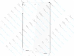 Case Clear Back Apple iPad 2 iPad 3 iPad 4 white