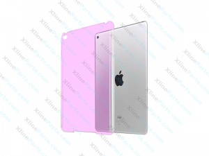 Case Clear Back iPad Mini 4 pink