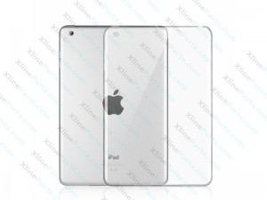 Tablet Case Clear Back iPad Mini / iPad Mini 2 / iPad Mini 3 black