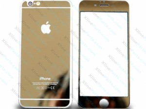 Tempered Glass Front and Back Apple iPhone 6G Plus / 6S Plus rose gold