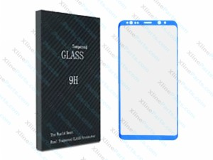 Tempered Glass Screen Protector Edge Glue Samsung Galaxy Note 8 N950 blue