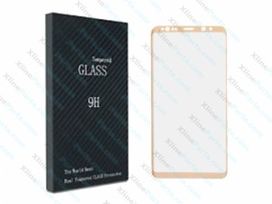 Tempered Glass Screen Protector Samsung Galaxy Note 8 N950 gold