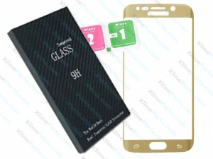 Tempered Glass Screen Protector Samsung Galaxy s6 Edge G925 G925F gold