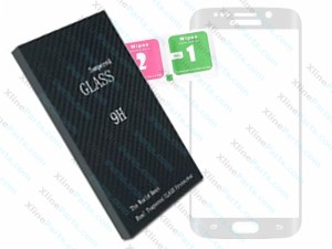 Tempered Glass Screen Protector Samsung Galaxy s6 Edge Plus G928F white