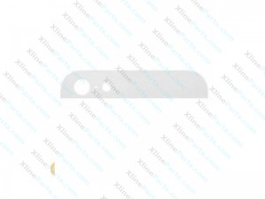 Top Glass Lens Apple iPhone 5G white