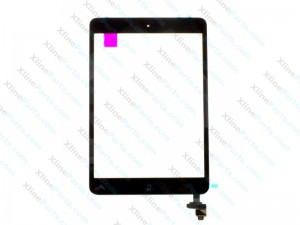 Touch Panel with IC Apple iPad Mini Complete black