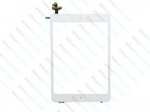 Touch Panel with IC Apple iPad Mini Complete white