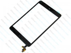 Touch Panel with IC Apple iPad Mini 3 Complete black