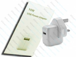 Travel Charger iPad Adapter USB 3 pin 10W