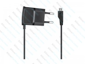 Travel Charger Samsung Micro USB 2 Pin Built-in Cable Bulk AAA