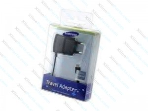 Travel Charger Samsung Micro USB 2 PIN black (Original)
