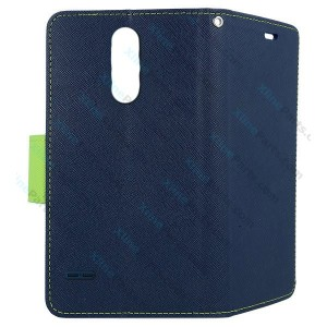 Flip Case Fancy LG K10 (2018) K11 dark blue