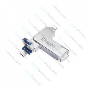 3 in 1 DataTraveler Pen Drive USB 3.0 32GB silver
