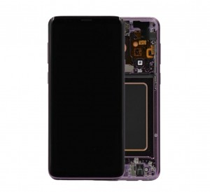 LCD with Touch and Frame Samsung Galaxy S9 G960F purple (Original)