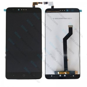LCD with Touch ZTE Zmax Pro 2981 black OCG