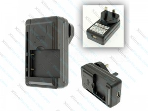 Universal Charger Battery 3 Pin Adapter