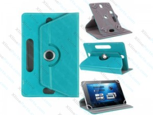 Universal Tablet Case 360 Degree Rotate 7.0 inch light blue